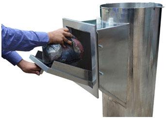 Garbage Chute System Smart Garbage Bins Meuniversal Com